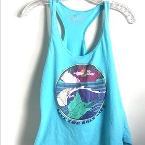 Salt Life Racerback Tank Top Small